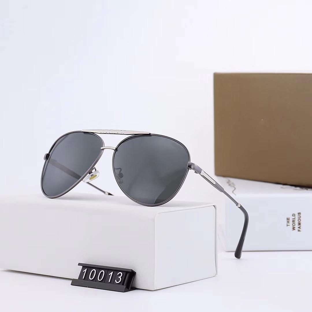 10013 designer de marca óculos clássicas dos homens de luxo, tendência da moda quente com senhoras óculos de sol, de condução e ciclismo óculos de sol