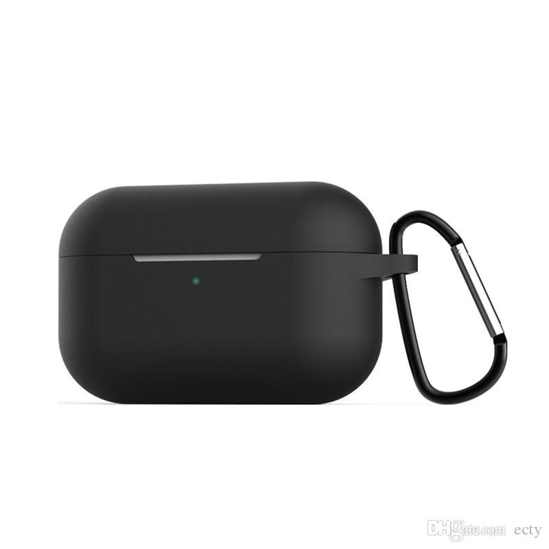 Protective Soft Silicone Case for AirPods Pro Shockproof Earphone Waterproof Bags Case for AirPods Pro Earbuds case