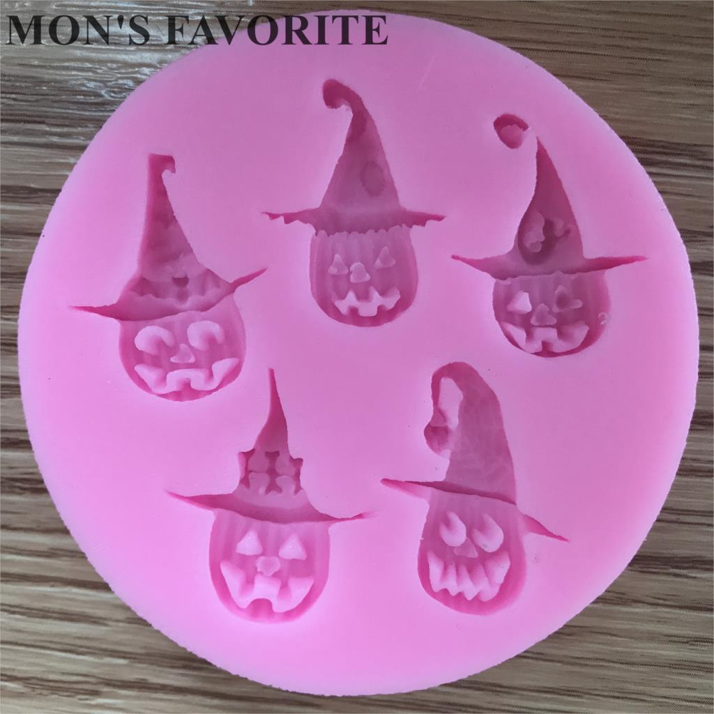 High Quality Mini Silicone Pumpkin Blame Cake Decorating Diy Mold Handmade Fondant Mould Tool*1