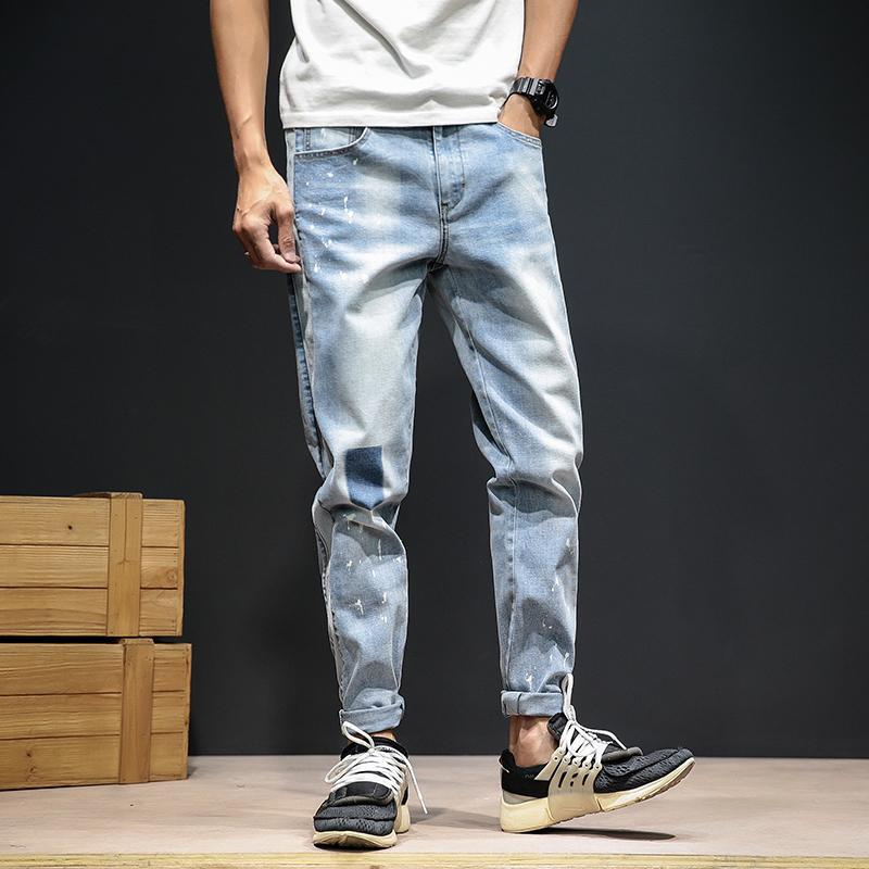 2020 Jeans de moda de los hombres Nueva calidad de alta calidad Denim de alta calidad Pantalones vaqueros ocasionales Tamaño 30-46 Venta al por mayor