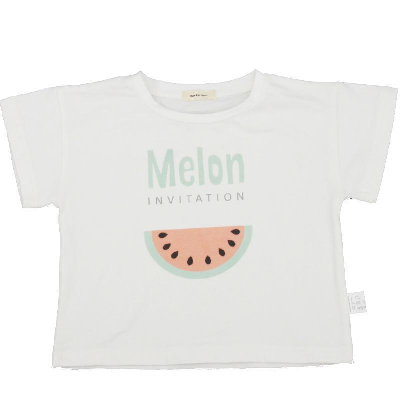 Pastèque Enfants Imprimer T-shirt D'été Été Cou Enfants T-shirt Garçons Filles T-shirt À Manches Courtes Vêtements De Bébé Tops Tees KKA6948