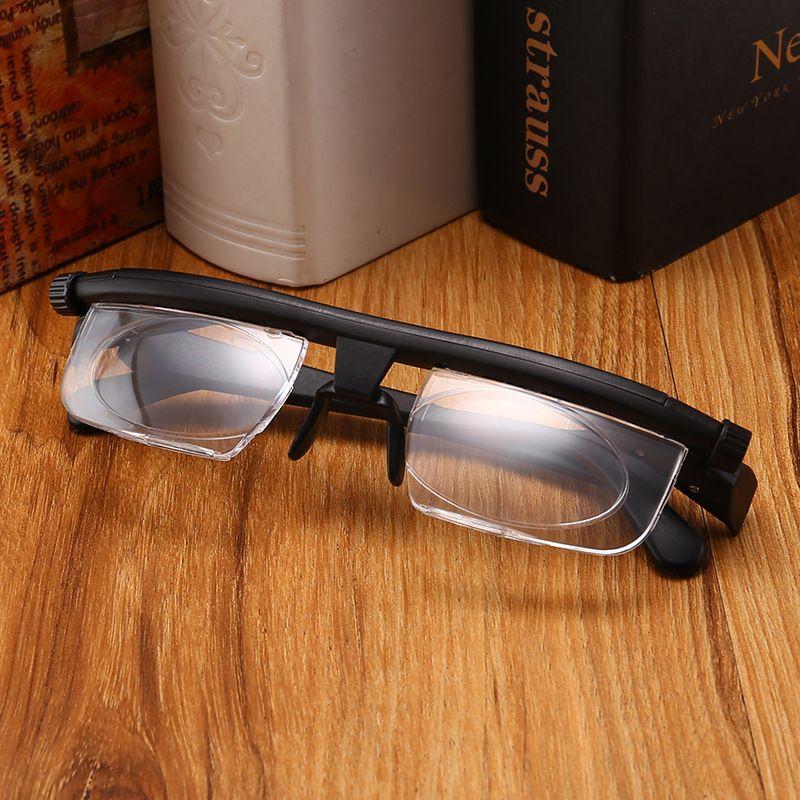 TR90 odak uzaklığı ayarlanabilir presbiyopik gözlük-6D + 3D derece miyop presbiyopik gözlük ABD İNGILTERE ücretsiz sıc ...