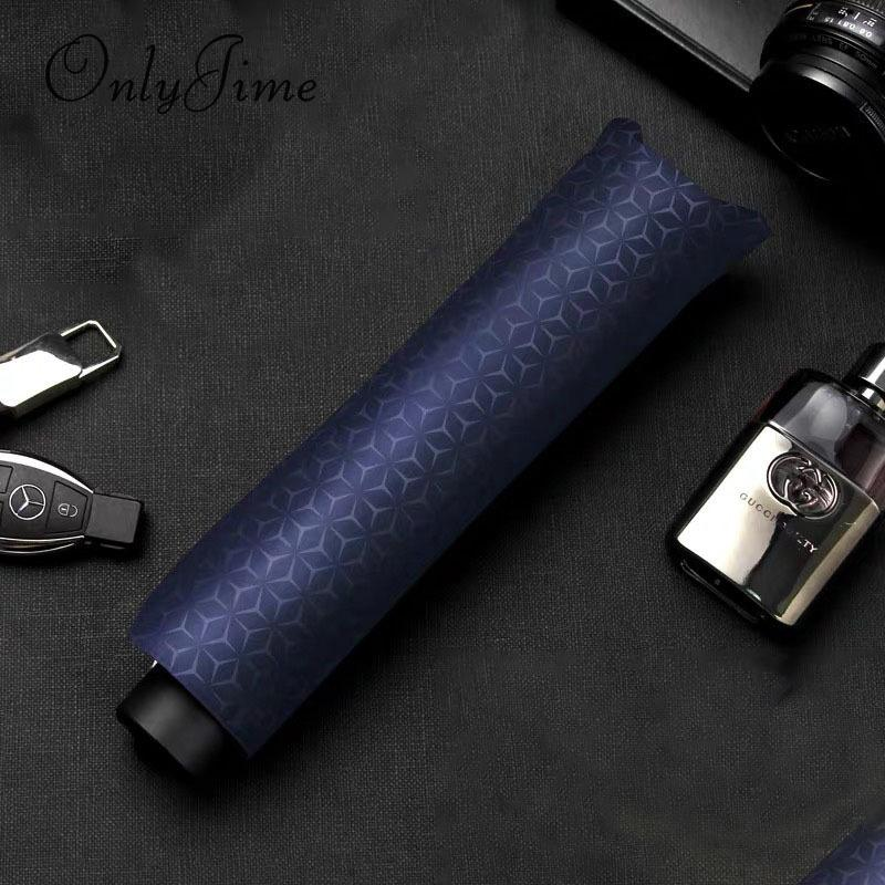 2019 Only Jime Solid Color Simple Business Umbrella Increase Mens Business  High End Umbrella Black Coating Three Folding From Tinaya, $19.48