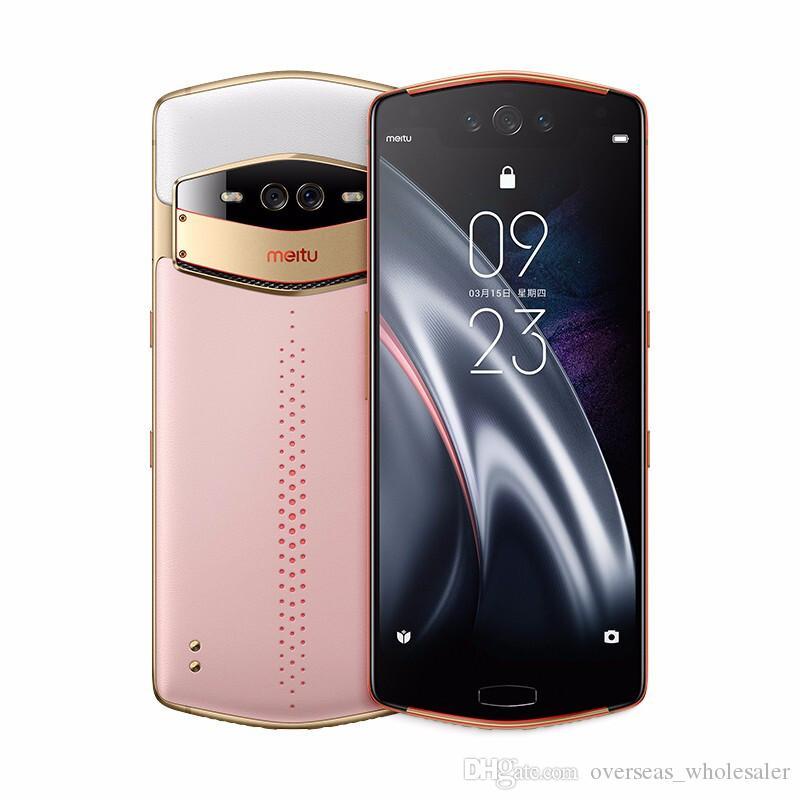 "Original Meitu V7 4G LTE Smart Mobile Phone 8GB RAM 128GB ROM Snapdragon 845 Octa Core Android 6.21"" AMOLED 20.0MP Fingerprint ID Cell Phone"