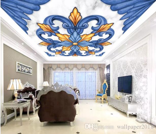 Custom Photo Wallpaper Mural 3D Abstract rotating ball fashion ceiling zenit Wall Decorative Painting papel de parede wall papers home decor