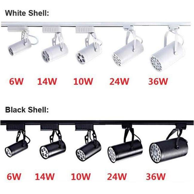 LED Parça Işık 6 W 10 W 14 W 24 W 36 W 120 Işın Açı Soğuk Sıcak Beyaz LED Tavan Spot Işık AC 85265 V LED Spot Aydınlatma CE RoHS UL