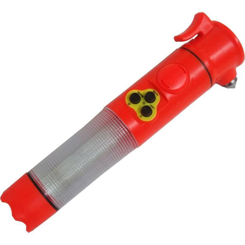 Multi -Function Safety Hammer Car Escape Broken Window Hammer Six -In -One Emergency Tool With Sound Alarm Flash