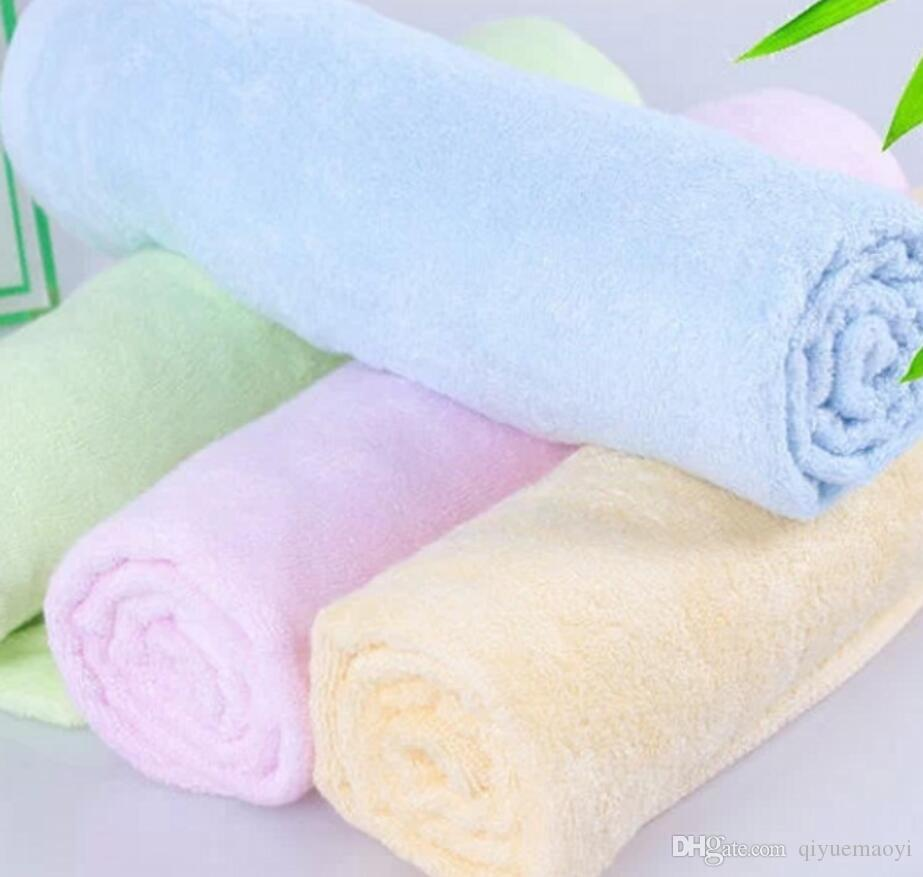 Полотенца для лица бамбукового волокна мыть ткани ребенок полотенца поглощения мягкой воды для ванной комнаты отеля спа-кухни