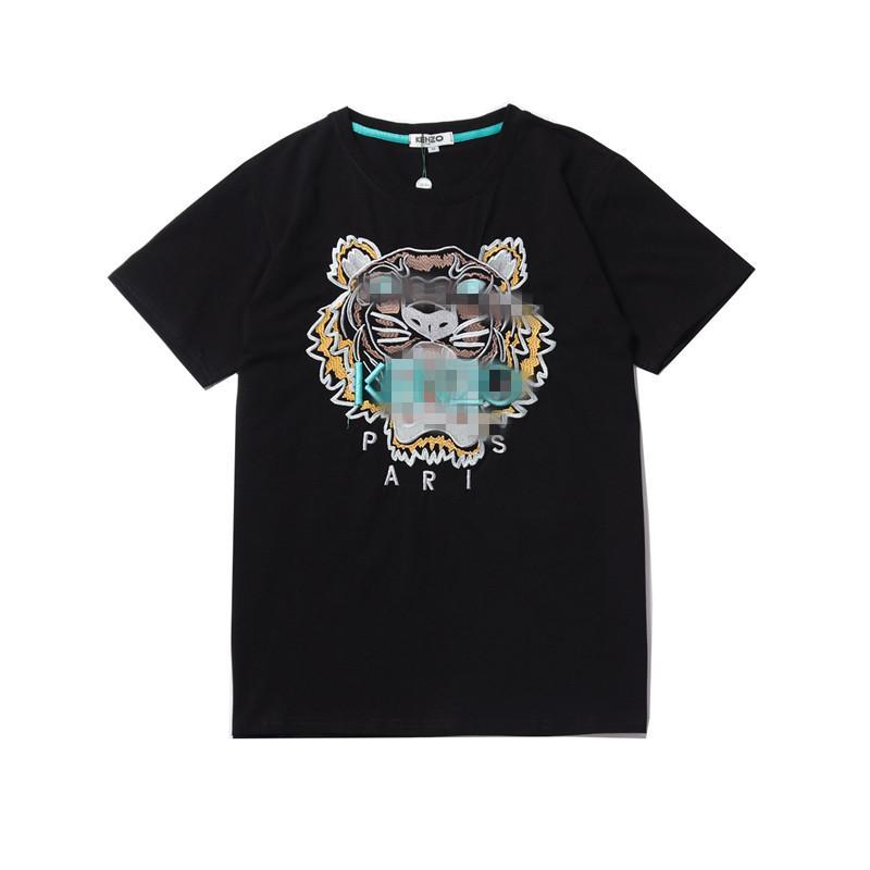 Heißer Verkaufs-Marken-Hemd-Entwerfer-Frauen-Männer Tiger-Muster-T-Shirt Art und Weise beiläufige Frühlings-Sommer-Spitze T Shirts Qualitäts-T-Shirt 2040103H