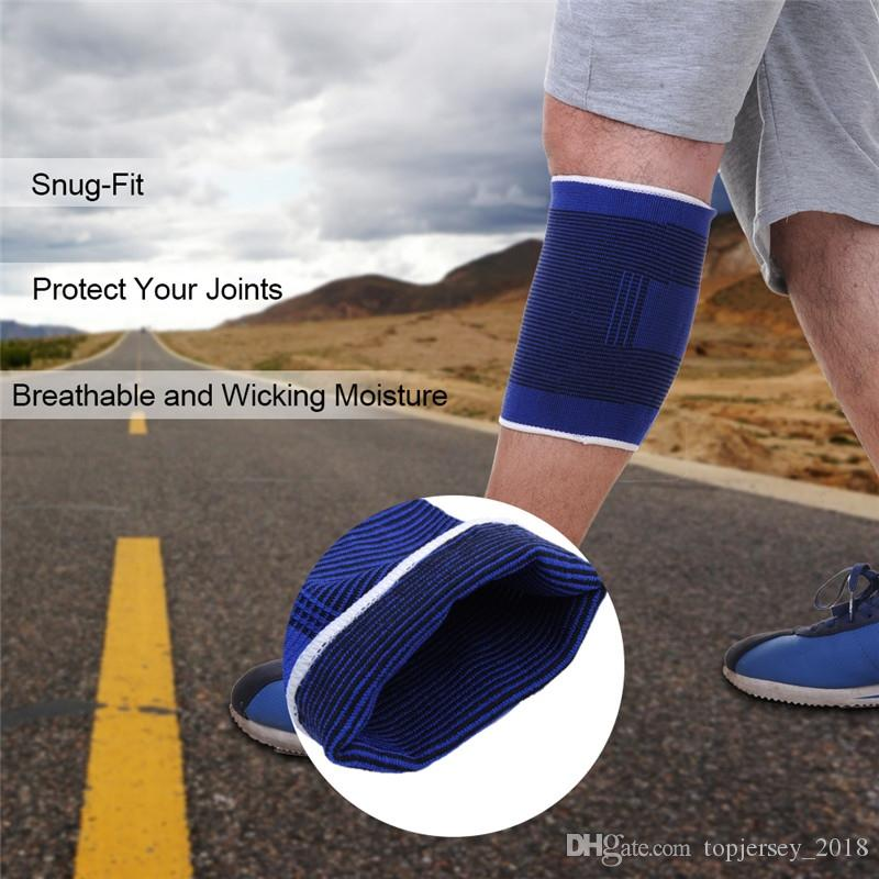 High Quality Knee Pads Support Leg Arthritis Injury Sleeve Elasticated Bandage Elbow Pad Kneepads outdoor sport protection tool #71136