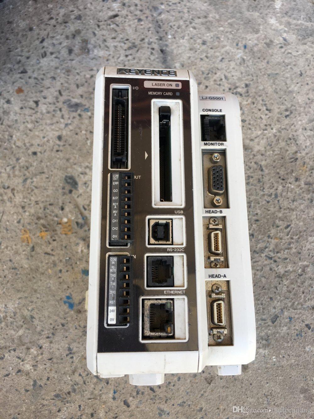 1 UNID Controlador de Desplazamiento Láser Keyence Original LJ-G5001 Usado Prueba Ok Envío Acelerado Gratis