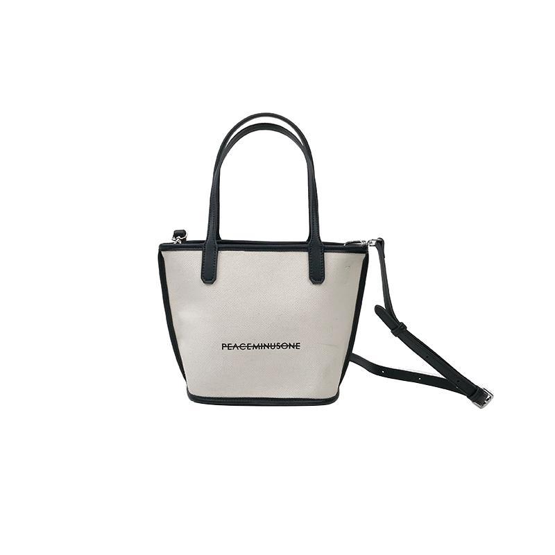 K сестра холст ведро сумка лето мода простой плечо сумка ретро дикий женский пакет Shoulin