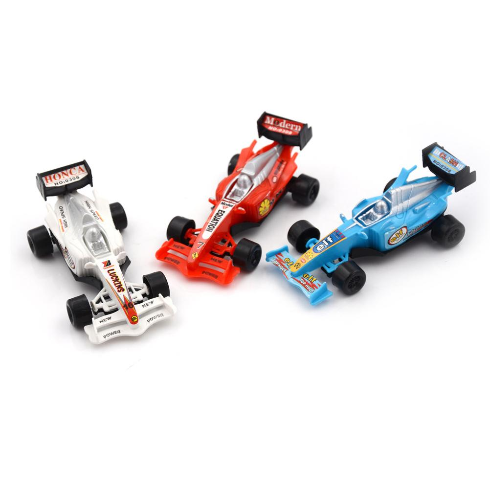 1PC سبيكة موديل السيارة لعبة الكرتون البسيطة العودة سيارات نموذج المنقول سباق السيارات للحصول على هدايا للأطفال