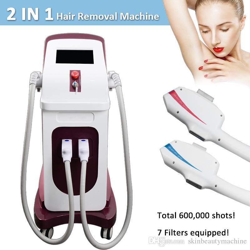 Hi-tech ipl hair removal shr elight CE approved laser hair removal salon machine E light shr ipl equipment