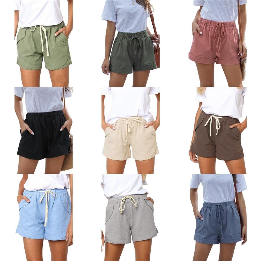 Arrefecer Mulheres Cotton Short Calças Casual Workout Calf -Comprimento Jogger Womens Shorts Sweatpants Crossfit Homem da aptidão Curto Eu Tamanho S-XXL # 595