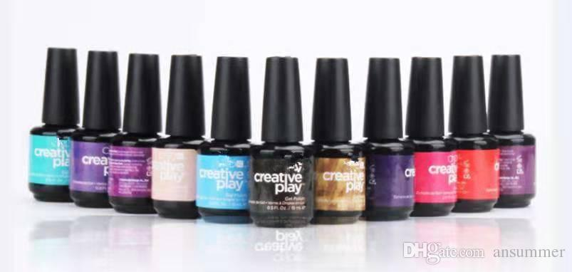 Горячая Оптовая C Роза завод клей лак для ногтей Тин 108 цвет творческие игры серии 15 мл лак для ногтей клей импортные бренды маникюр