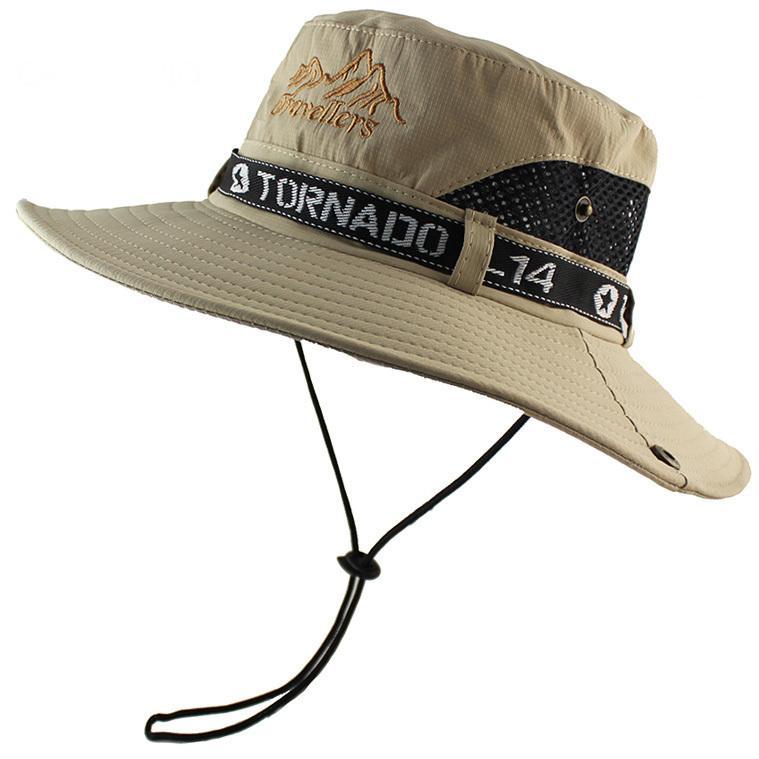 Frauen Männer Angelhut Sonnenhut Floppy Hat Sunnen Bucket Hat UV-Schutz Bush Hat