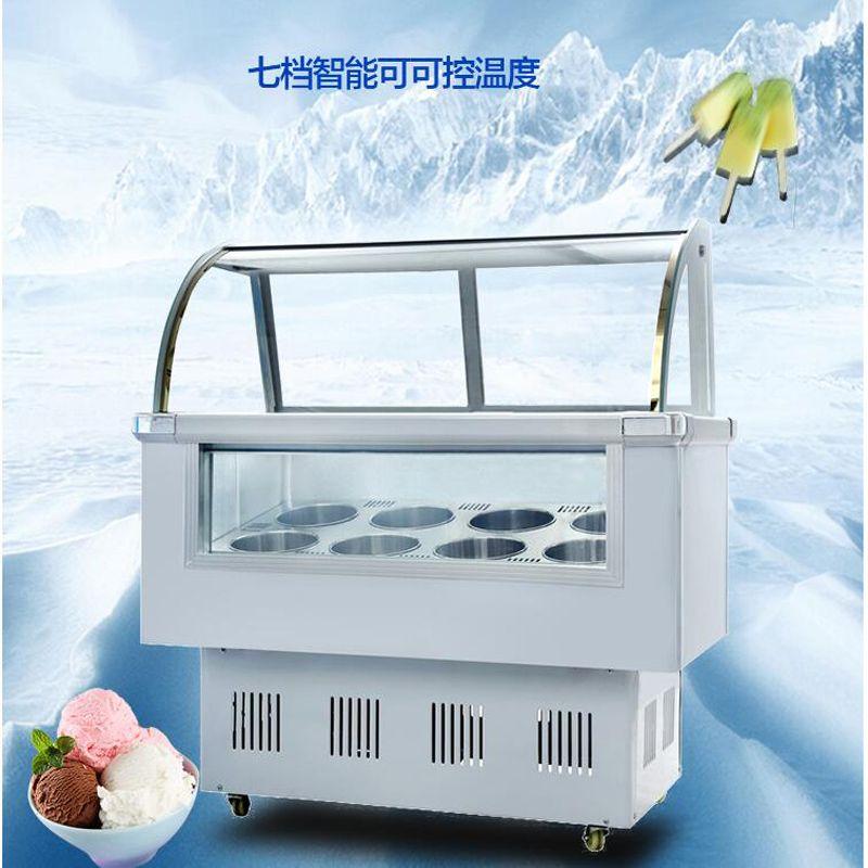 6 бочонков / 10 коробок морозильника витрины мороженого для витрины мороженого / эскимо / ледяной каши