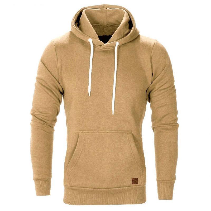 Herbst beiläufige Hoodies Sweatshirt Männer Pullover Mode Langarm Schwarz Grau Hip Hop Pullover Sweatshirts M-3XL