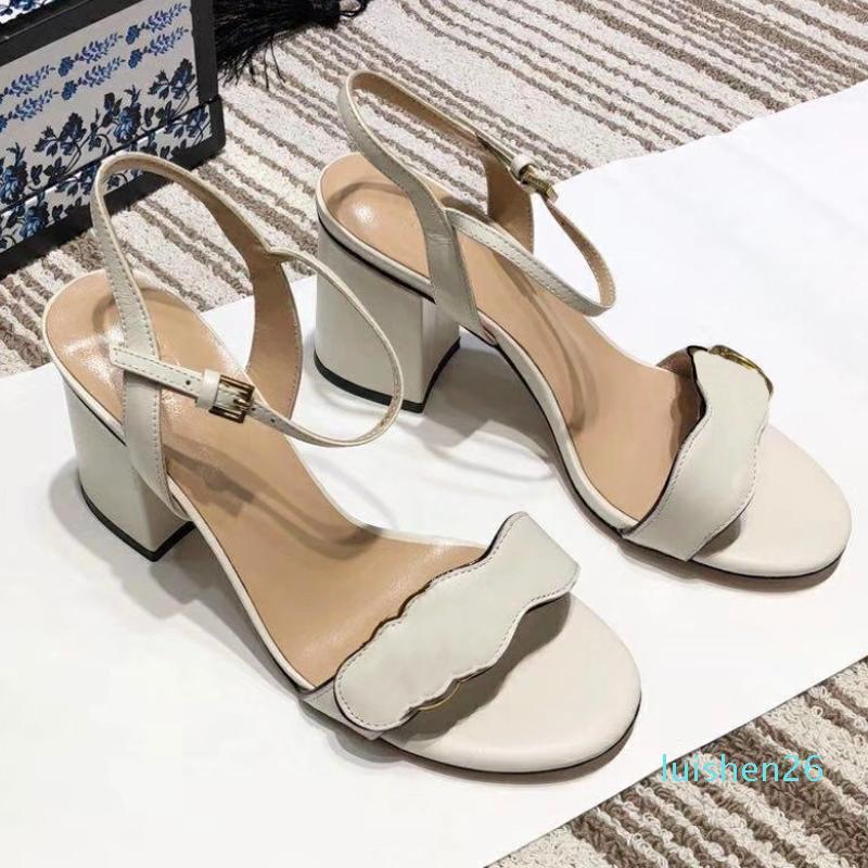 Sale Designer Sandal High Heels Leather
