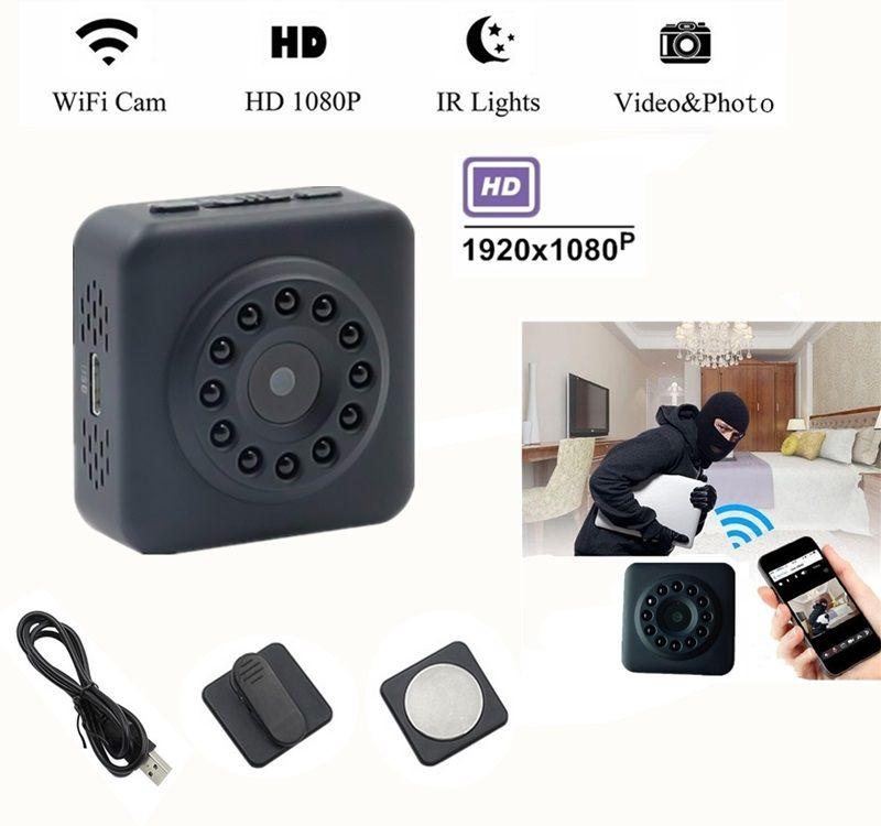 1080P WIFI min IP camera Full HD IR Night Vision micro Mini DV Camera motion detection DVR Home Security P2P Network Camcorder D102