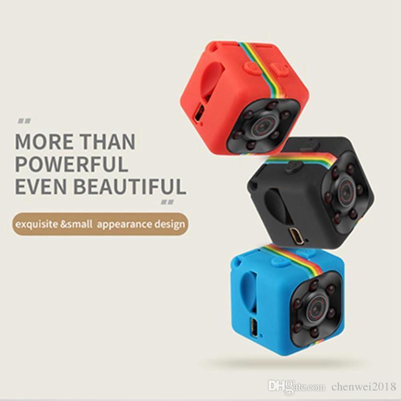 1080P IR night vision mini camera SQ11 Full HD Sports Mini DV Car DVR with motion detection Home Security Recorder Nanny Camera