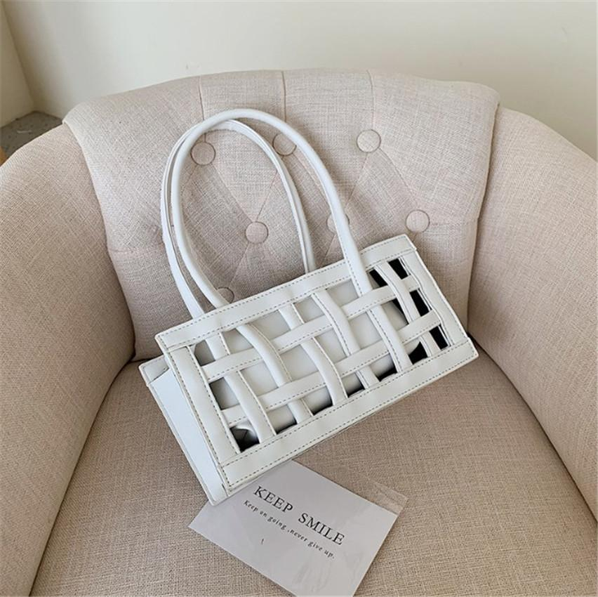 Frauen arbeiten Handtasche Schulter Achsel Beutel-Handtasche Qualität PU-Sense of Design aushöhlen PH-CFY20041425