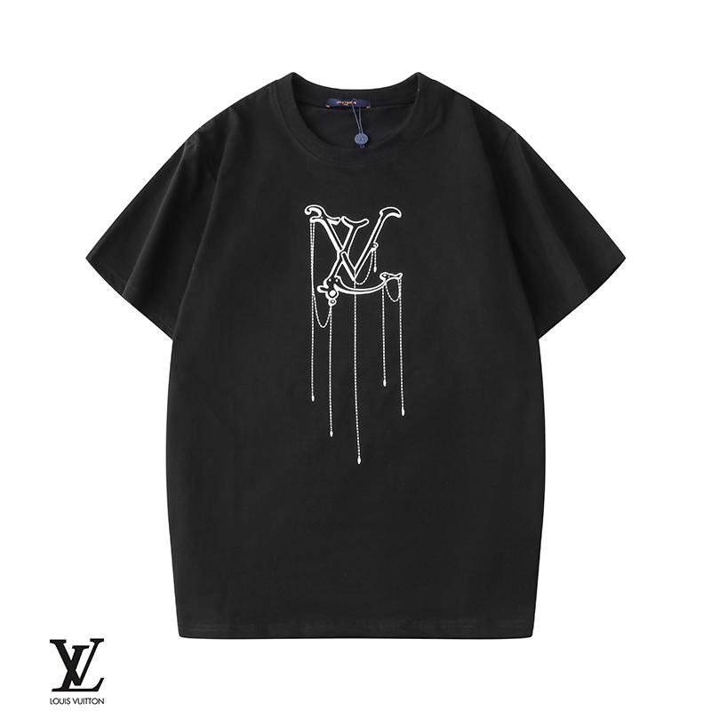 2020 para hombreLV camiseta Ropa para Hombres camiseta del verano Hip Hop Tamaño Hombres Mujeres manga corta S-XXL 205897fjmlok