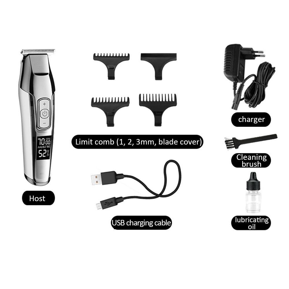 Kemei Elektro Beard Trimer aparador de pelos für Männer Barber Shaver für Akku-Haarschneidemaschine Schneidemaschine F30 newclipper WUBqL