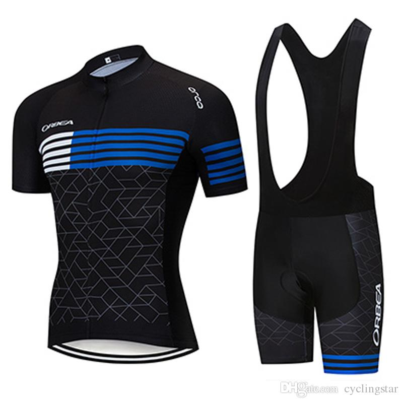 Men/'s Summer Cycling Short Jersey Race Sports Uniforms Shirt Bike Bib Shorts Set
