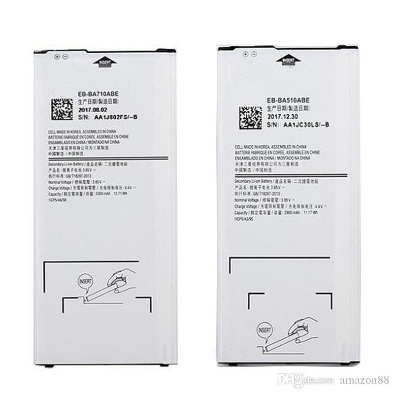 Neue A5 A7 Batterie für SAMSUNG Galaxy A510 2016 A5 A7 A710 A700 A710F A710 2016 Version EB-BA510ABE EB-BA710ABE Batterie
