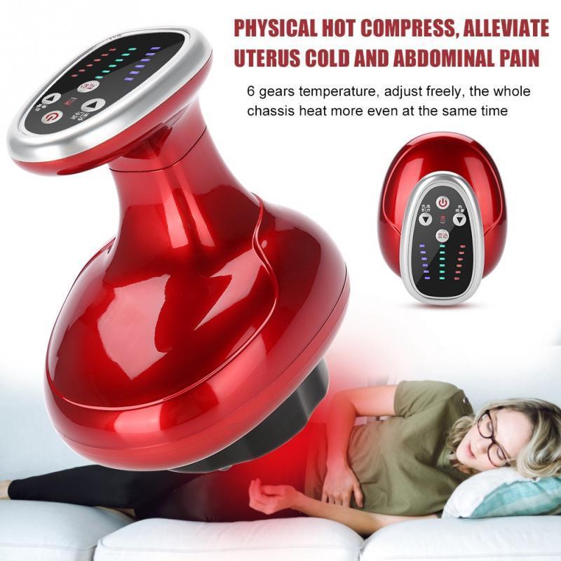 Novo Elétrico Raspagem Massageador Corporal Emagrecimento Dragagem GUASHA Massagem Dispositivo Gordura com 2 x Óleo Essencial