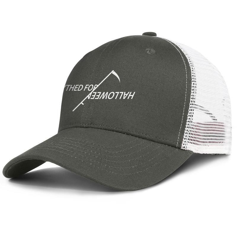 Horror Scythed For Halloween scythe mower army_green mens and womens trucker cap baseball styles designer mesh hats kids love happy Baby