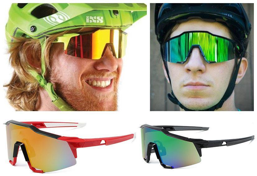 Gafas de sol al aire libre Gafas de sol Gran marco Ciclismo Polarizado Fashion Gafas de sol Gafas de sol UV Protección Los accesorios para hombres Conducción PJKGH