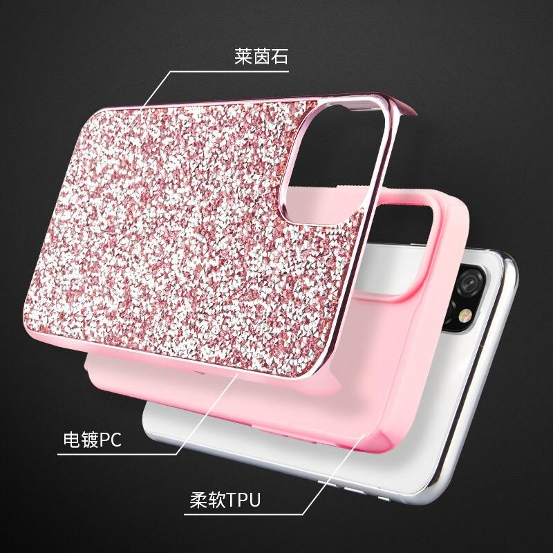 High Level Shiny Mobile Designer phone Case For Iphone 11 Colourful Glisten ShineRefreshing Trendy Fashion Silicone Anti-fall beautiful