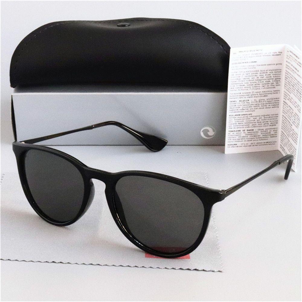 Klasik Erika Güneş Gözlüğü Kadın Marka Tasarımcısı Ayna Kedi Göz Sunglass Yıldız Stil Koruma Güneş Gözlükleri UV400
