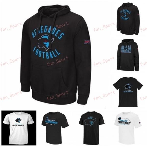 Erkekler Landry Jones Renegades XFL Futbol Jersey Kazak Hoodies T-Shirt Phillip Nelson Cameron Artis-Payne Dimitri Çiçekler Baskılı