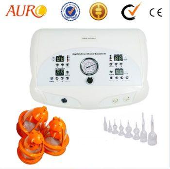 3 في 1 الاهتزاز فراغ الثدي LED جهاز تكبير الرعاية الحلمة آلة الجمال مع CE AU-6802