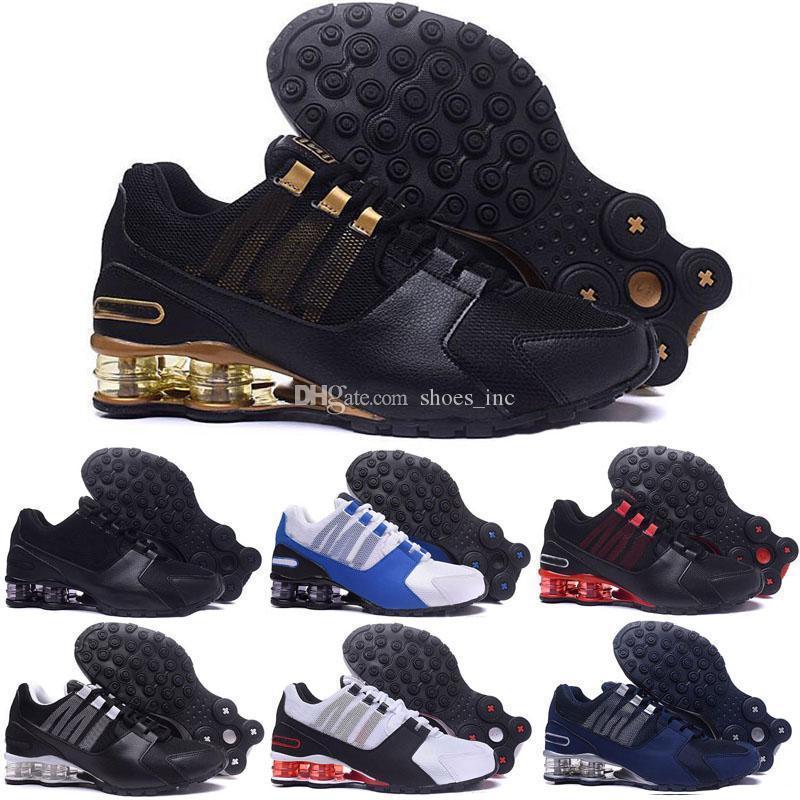 Venta de envío de la gota caliente venta al por mayor Famous Avenue NZ para hombre zapatillas deportivas calzado deportivo tamaño 7-12