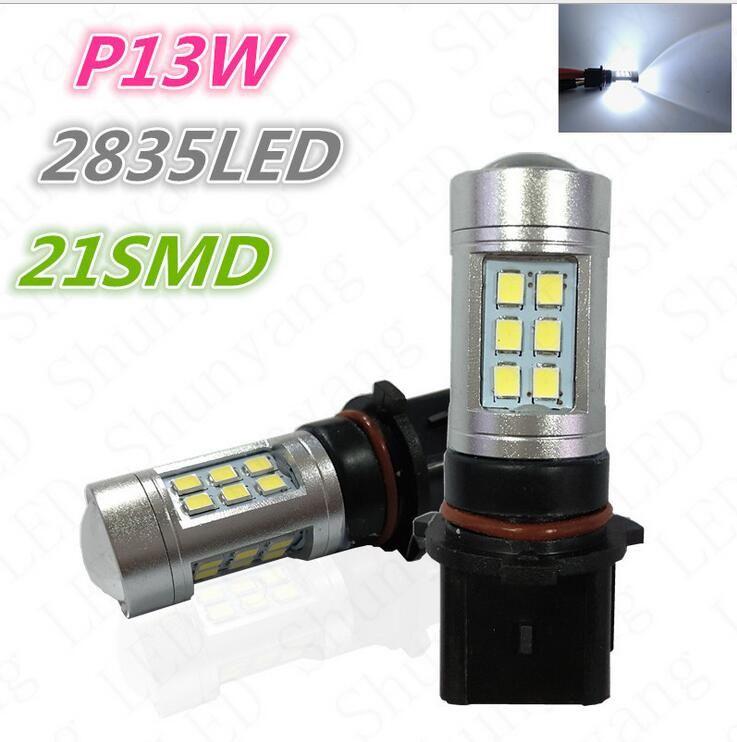 2X LED P13W SH23W Projector Fog Running Light For cx-5 2013 Camaro Highlander 508 B8