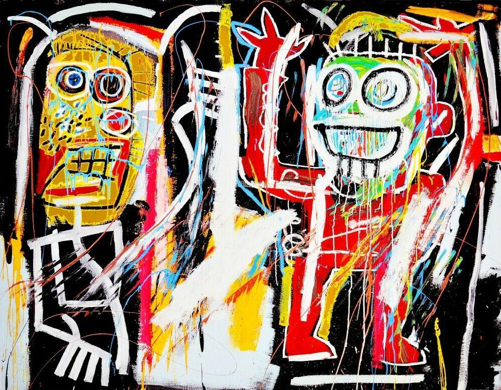 2021 JEAN MICHEL BASQUIAT DUSTHEADS Home Decor Handpainted &HD Print Oil  Painting On Canvas Wall Art Canvas Pictures 200303 From Wnp9898, $9.94    DHgate.Com