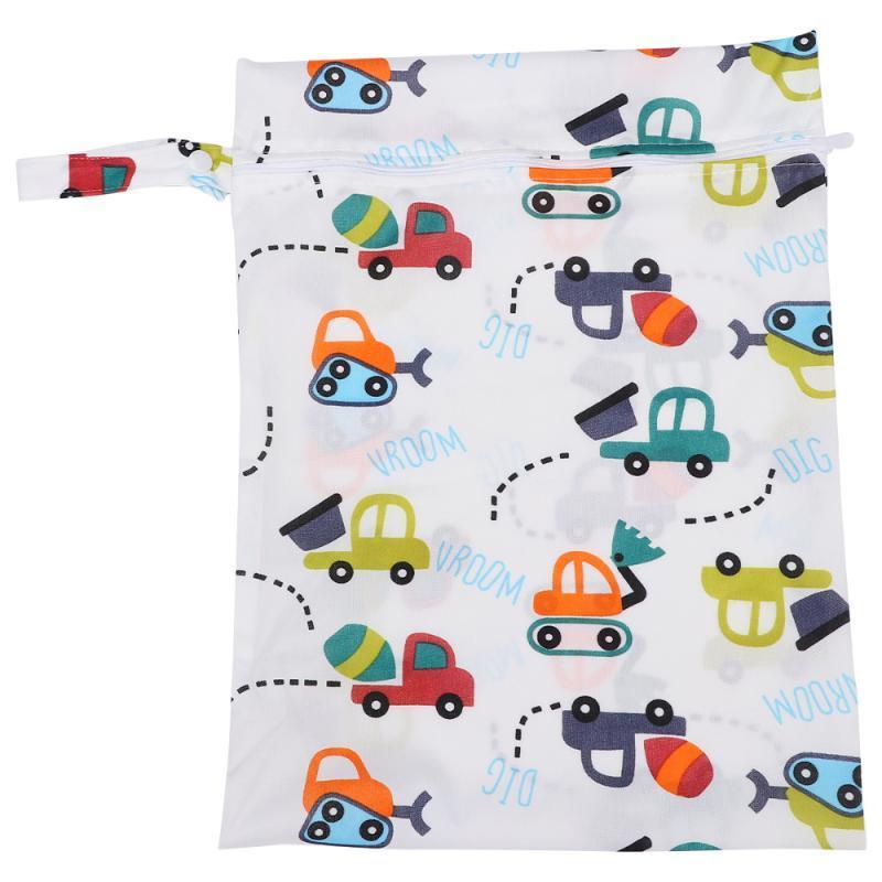 لطيف الرضع حفاضات حقيبة متعددة الأغراض الحفاض حقيبة قابلة لإعادة الاستخدام للماء الطفل الحقيبة حفاضات للفي الهواء الطلق (واحدة زيبر، نمط السيارة)