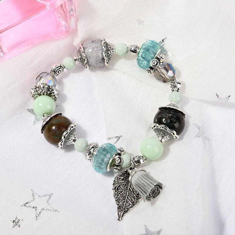 Оптово-т роскошь дизайнер ювелирных изделий женщин браслеты натурального камень бисер очарование море сериалы браслет замороженные из браслета NE983-3