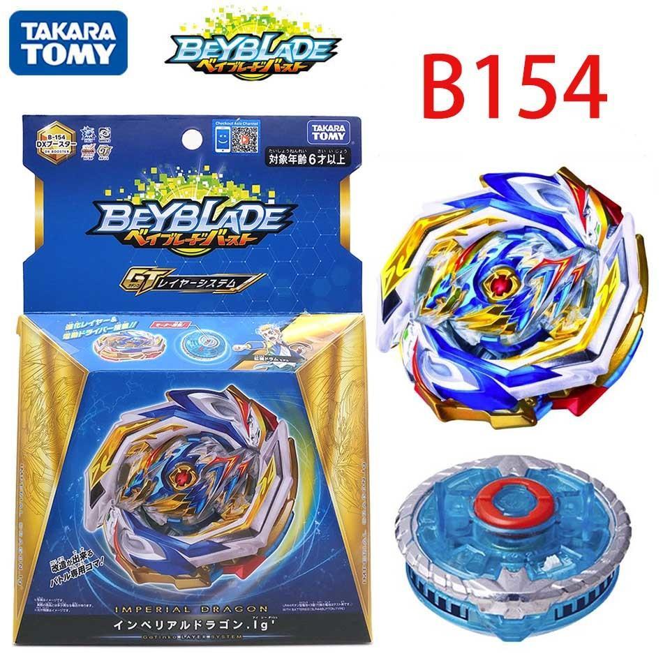 TAKARA TOMY Genuine Beyblade Blasting Gyro Fourth Generation GT B-154 Imperial Dragon God Bayblade Blade Gyroscope Toys For Boys Y200109