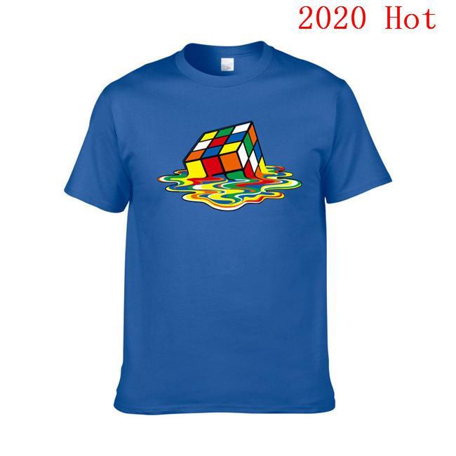 2020 nuovi uomini delle donne della maglietta 100% cotone T-shirt Estate Skateboard Tee Boy Skate Tshirt Top dimensione europea XS-XXL EL-7