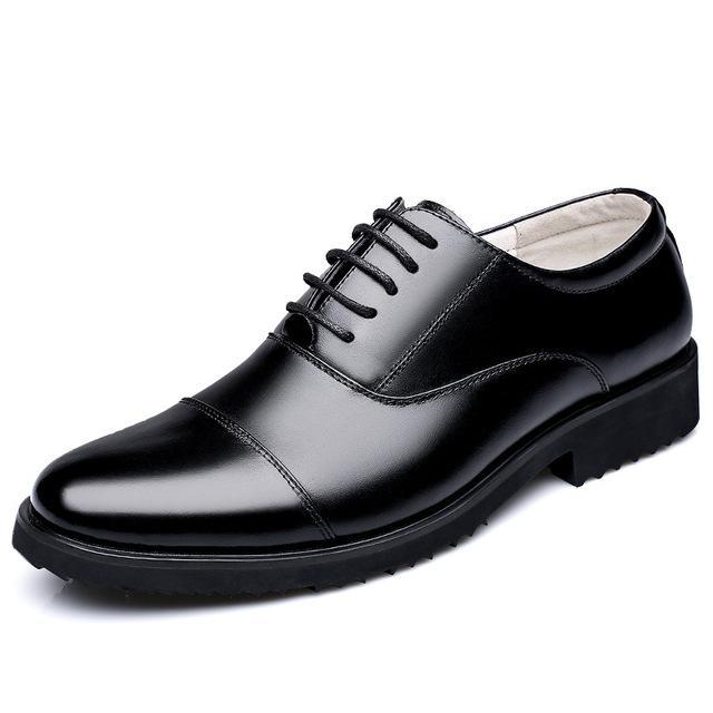 Mens scarpe di cuoio classico Splice design Split Scarpe in pelle per uomini d'affari Oxfords Calzatura uomo