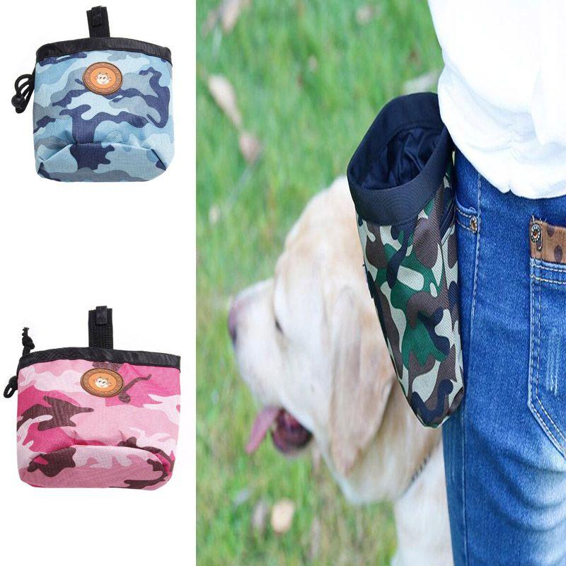 3 renkler Pet Köpek Kılıfı Köpek Eğitim Tedavi Çanta Taşınabilir Ayrılabilir Doggie Pet Besleme Cep Kılıfı