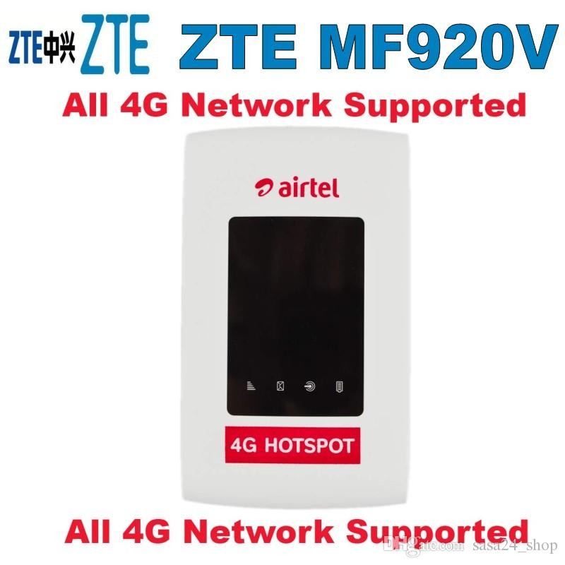 Desbloquear ZTE MF920v 4G POCKET WIFI router