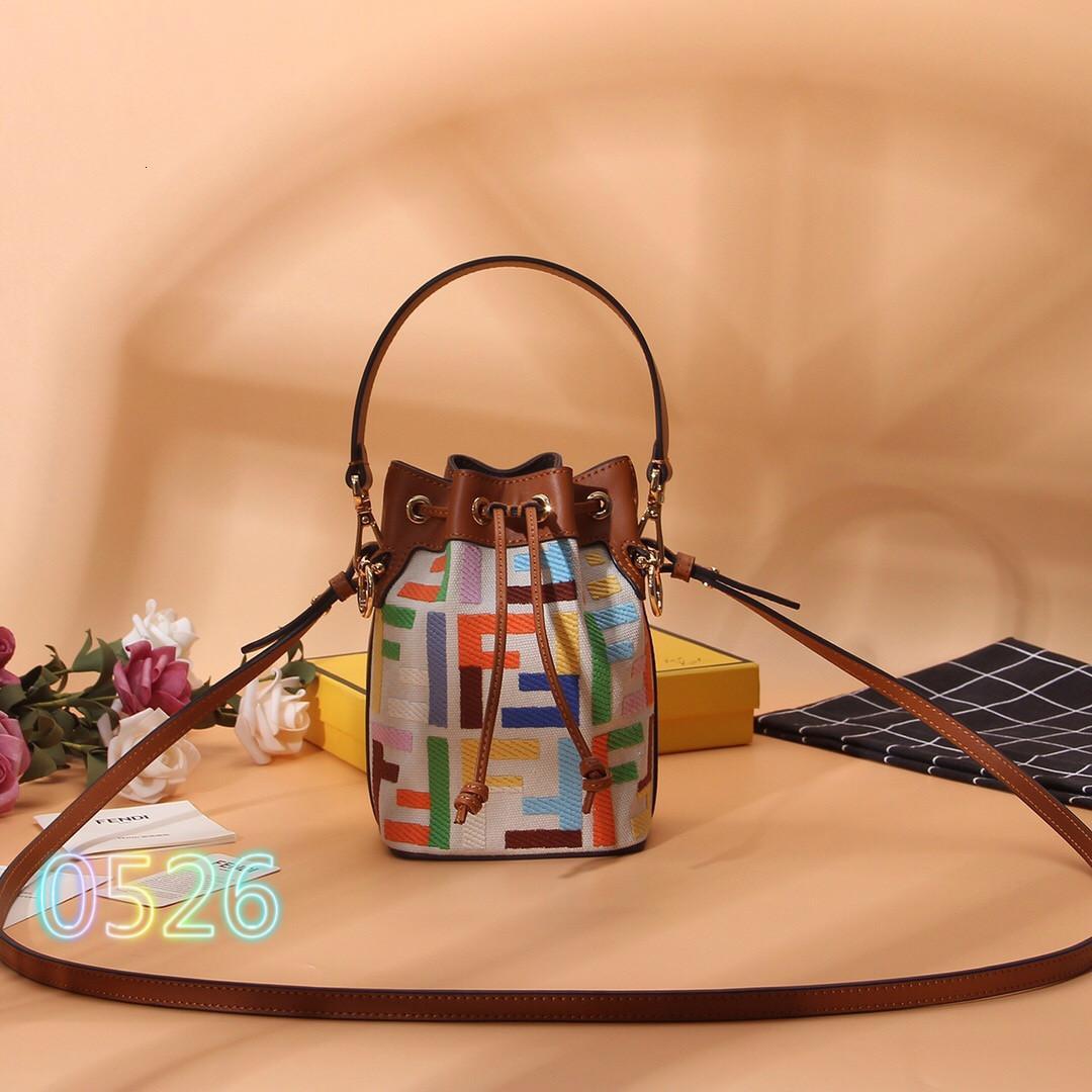 Damenrucksack 2020 Marke Europa und Amerika Messenger Bag Trend Damen Umhängetasche Einkaufstasche 335