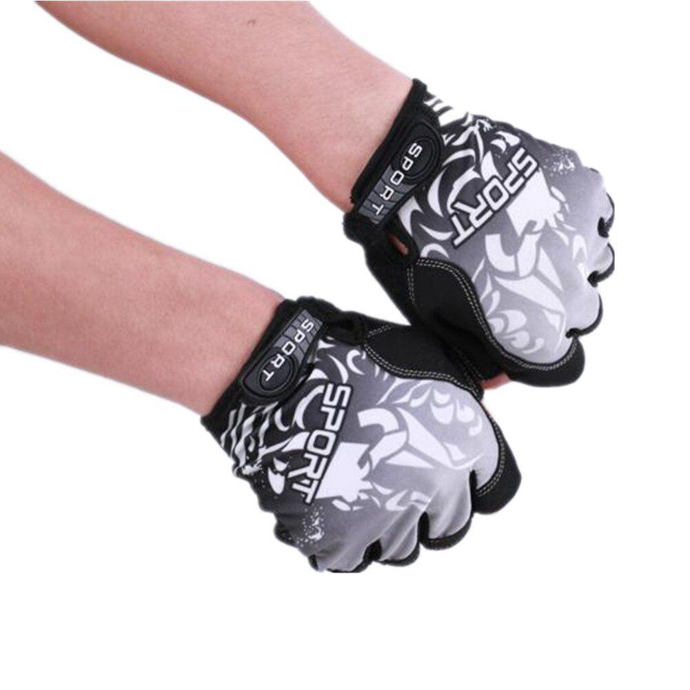 Luvas de ciclismo da bicicleta antiderrapantes Luvas respirável ultrafinos Unisex metade do dedo luvas externas guantes Pesca Escalada Ciclismo